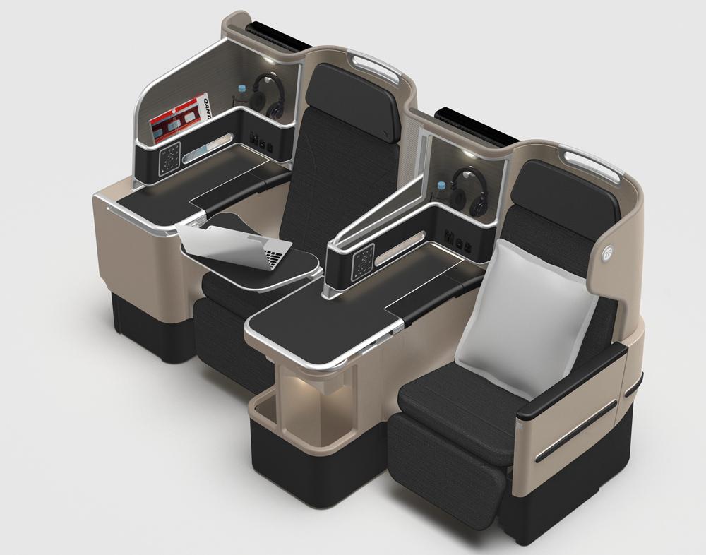 Qantas Business Class Seats