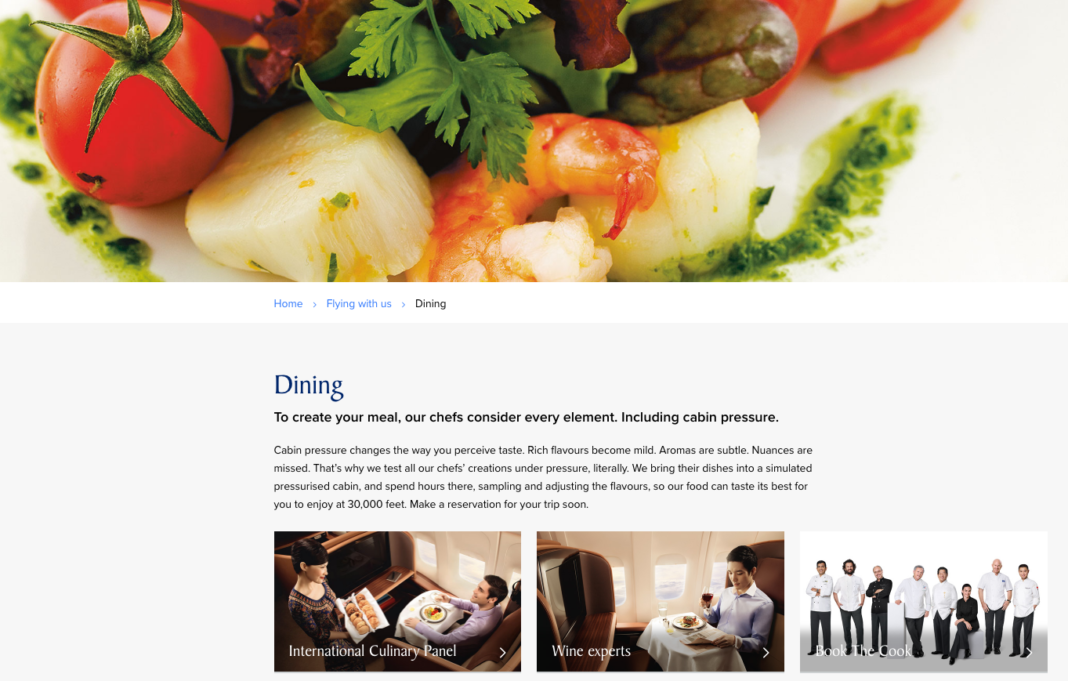 Singapore Airlines to Serve Local Meals Similar to Jetstar and AirAsia