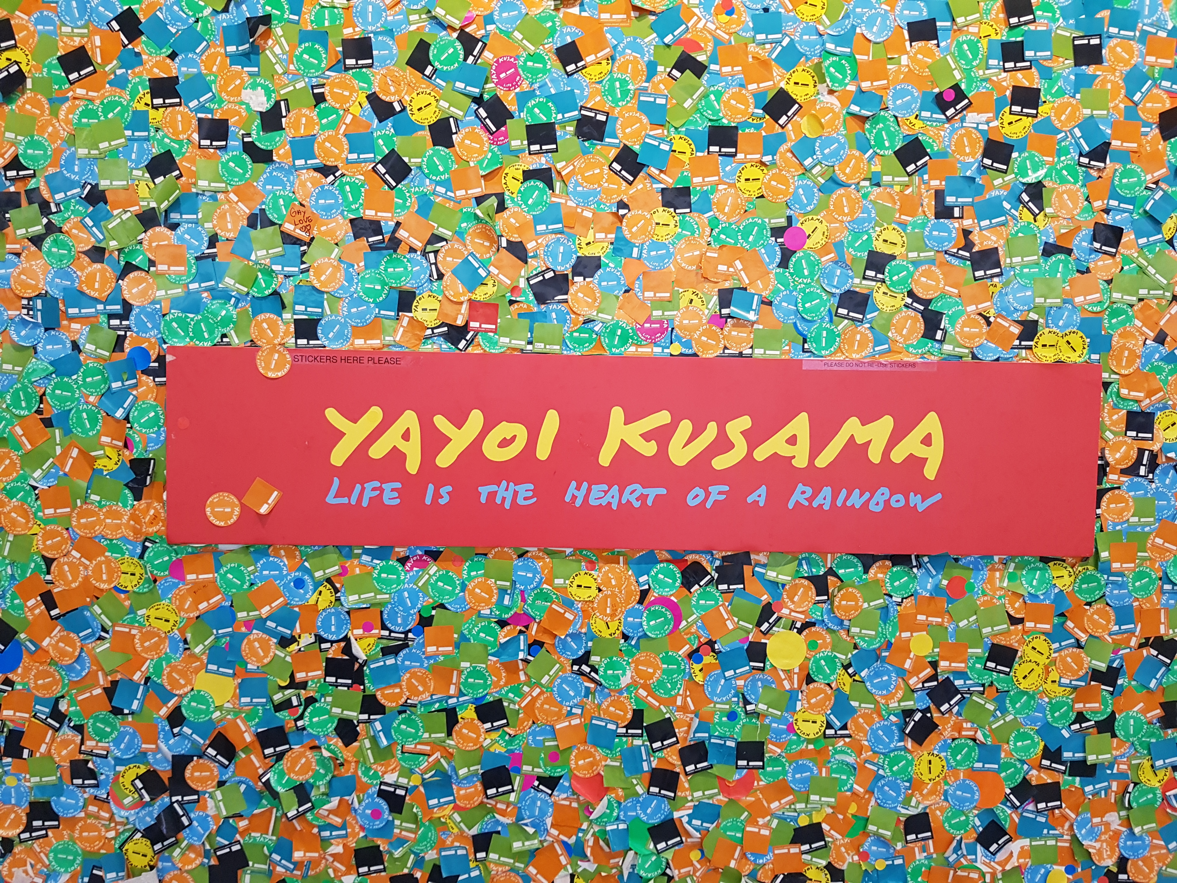 Yayoi kusama singapore